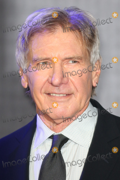 Photo - Harrison Ford at the European premiere of Star Wars The Force Awakens in Leicester Square London December 16 2015  London UKPicture James Smith  Featureflash