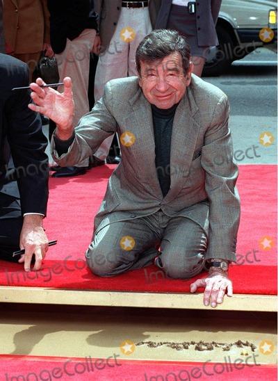 Photo - Walter Matthau handprint ceremony