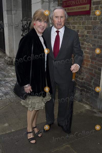 Jackie Stewart Photo - Jackie Stewart arriving for David Frosts Annual Garden Party held at the Royal Chelsea Hospital in London 10072012 Picture by Simon Burchell  Featureflash