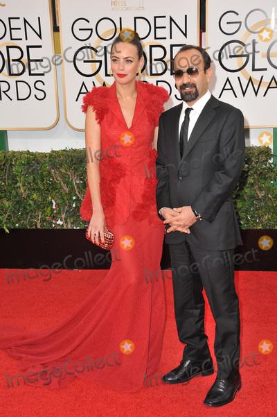 Asghar Farhadi Photo - Berenice Bejo  Asghar Farhadi at the 71st Annual Golden Globe Awards at the Beverly Hilton HotelJanuary 12 2014  Beverly Hills CAPicture Paul Smith  Featureflash