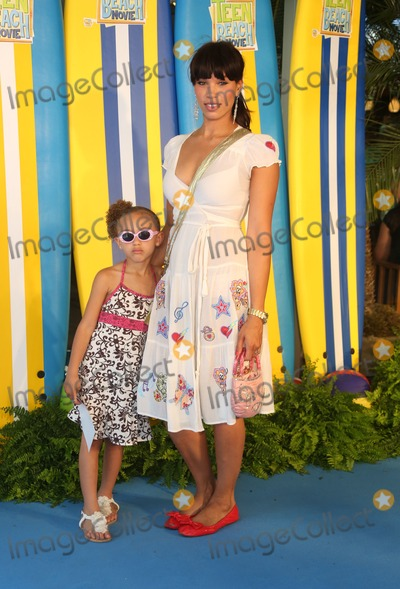 Javine Photo - Javine Hylton daughter Angel at the UK screening of Disney Channels Teen Beach Movie London 07072013 Picture by Henry Harris  Featureflash