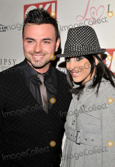 Andy Scott Photo - London UK Andy Scott-Lee and guest at the OK Magazine Editorial Christmas Party held at the Living Room in London 8th December 2008SYDLandmark Media