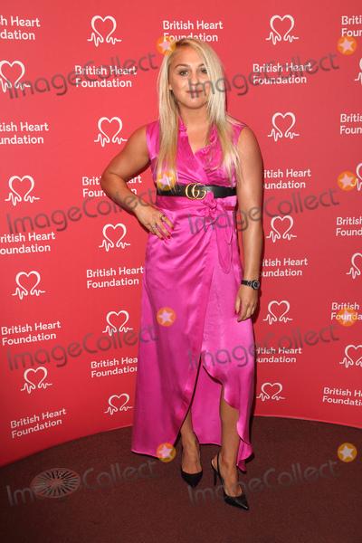 Aimee Fuller Photo - London UK  Aimee Fuller    at British Heart Foundations Heart Hero Awards at the Underglobe Bankside 20th September 2019RefLMK73-S2370-210919Keith MayhewLandmark Media WWWLMKMEDIACOM