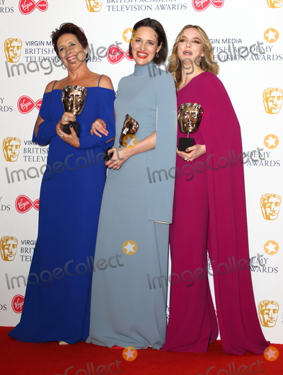 Photos From The British Academy Television Awards 2019- press room