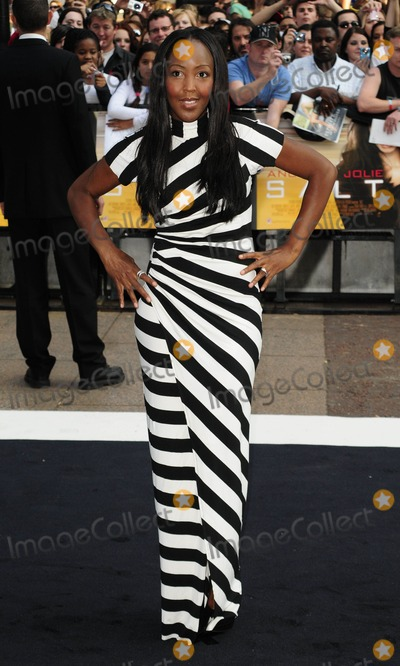 Angellica Bell Photo - London UK 160810 Angellica Bell at the UK premiere of the film Salt held at the Empire Cinema in Leicester Square 16 August 2010 Can NguyenLandmark Media