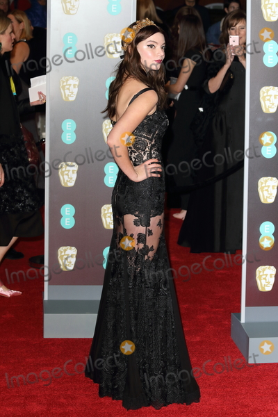 Photo - London UK Anya Taylor-Joy at EE British Academy Film Awards 2018 - Red Carpet Arrivals at the Royal Albert Hall London on Sunday February 18th 2018 Ref LMK73 -J1591-190218Keith MayhewLandmark Media WWWLMKMEDIACOM