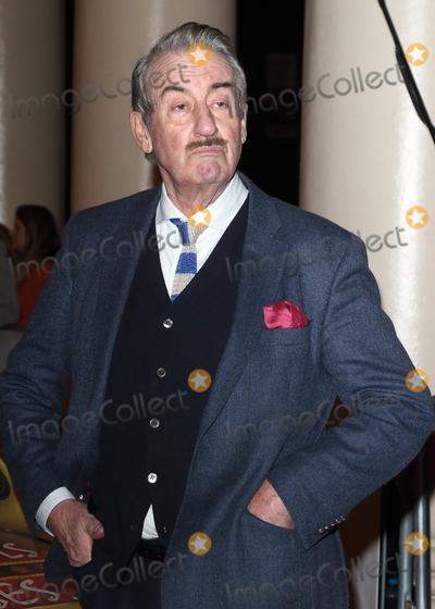 Photo - London UK John Challis at Only Fools and Horses Press night at the Theatre Royal Haymarket London on Tuesday February 19th 2019Ref LMK73-J4377-200219Keith MayhewLandmark Media WWWLMKMEDIACOM