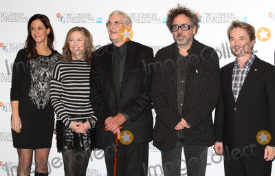Allison Abbate Photo - London UK Producer Allison Abbate Actress Catherine OHara actor Martin Landau filmmaker Tim Burton and actor Martin Short at the Frankenweenie 3D photocall and press conference 56th BFI London Film Festival held at the Corinthia Hotel Whitehall Place 10th October 2012Keith MayhewLandmark Media