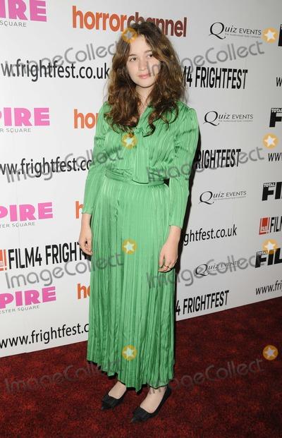 Alice Englert Photo - London UK   Alice Englert  at  the In Fear UK film premiere Film4 FrightFest film festival day 4 Empire cinema Leicester Square London 25th August 2013 RefLMK315-45065-260813 Can NguyenLandmark MediaWWWLMKMEDIACOM
