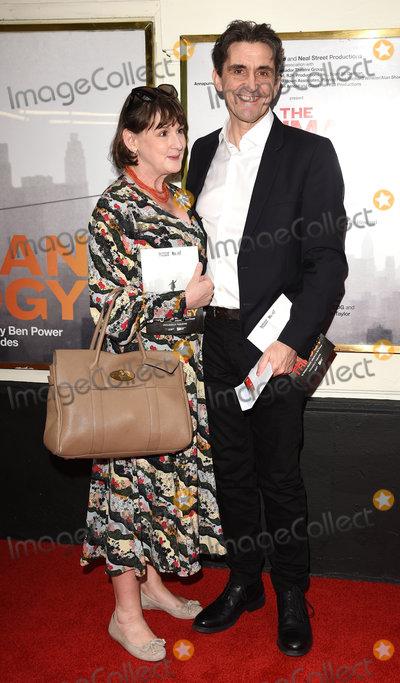 Photo - London UK Heidi Thomas Stephen McGann at The Lehman Trilogy Press Night held at Piccadilly Theatre Denman Street London on Wednesday 22 may 2019  May 2019  Ref LMK392-J4931-230519Vivienne VincentLandmark Media WWWLMKMEDIACOM