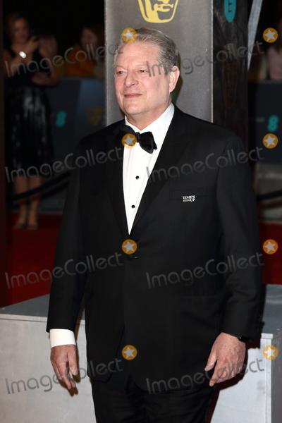 Photo - London UK Al Gore at EE British Academy Film Awards 2018 - Red Carpet Arrivals at the Royal Albert Hall London on Sunday February 18th 2018 Ref LMK73 -J1591-190218Keith MayhewLandmark Media WWWLMKMEDIACOM