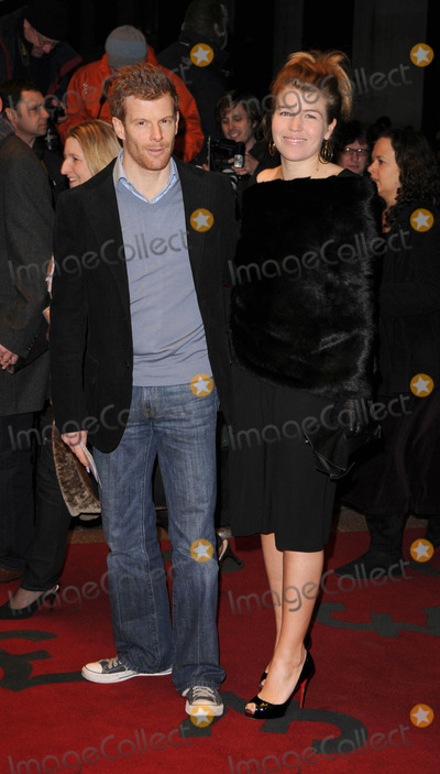 Amber Nuttall Photo - London UK Tom Aikens and Amber Nuttall at the World Premiere of The Bank Job at the Odeon West End in Leicester Square18 February 2008Can NguyenLandmark Media