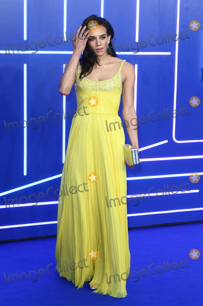 Photo - London UK Hannah John Kamen at Ready Player One - European film premiere at the Vue West End Leicester Square London on Monday 19 March 2018Ref LMK73-J1757-200318Keith MayhewLandmark MediaWWWLMKMEDIACOM