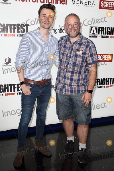 James Robinson Photo - London UK James Robinson and Magnus Wake   at Day Three of Frightfest 2019 at Cineworld Leicester Square London on Saturday August 24th 2019 RefLMK73-S2775-250819Keith MayhewLandmark Media WWWLMKMEDIACOM
