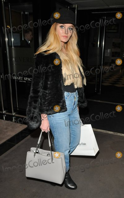 Holly Tandy Photo - London UK Holly Tandy at the LFW aw 2018 Stories from Arabia catwalk show  penthouse party De Vere Grand Connaught Rooms Great Queen Street London England UK on Monday 19 February 2018Ref LMK315-J1604-200218Can NguyenLandmark Media WWWLMKMEDIACOM
