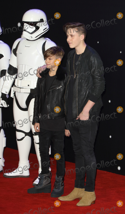 Romeo Beckham Photo - LondonUK Brooklyn Beckham and Romeo Beckham at the Star Wars The Force Awakens - European Premiere at Leicester Square  16th December 2015Ref LMK73-59062-171215Keith MayhewLandmark Media WWWLMKMEDIACOM