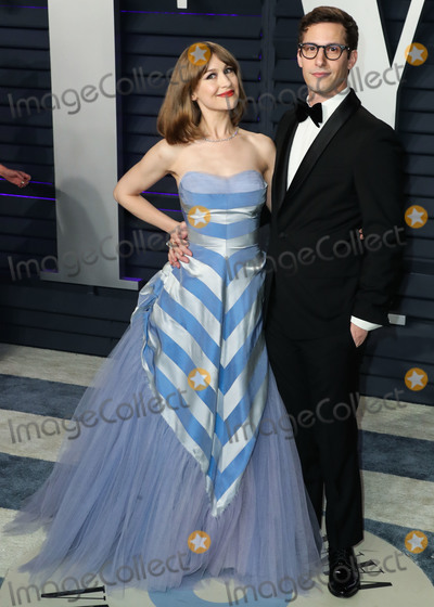 Joanna Newsom Photo - BEVERLY HILLS LOS ANGELES CA USA - FEBRUARY 24 Joanna Newsom and husband Andy Samberg arrive at the 2019 Vanity Fair Oscar Party held at the Wallis Annenberg Center for the Performing Arts on February 24 2019 in Beverly Hills Los Angeles California United States (Photo by Xavier CollinImage Press Agency)