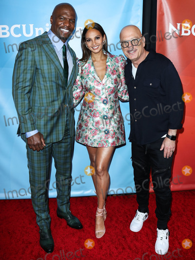 Alesha Dixon Photo - PASADENA LOS ANGELES CALIFORNIA USA - JANUARY 11 Terry Crews Alesha Dixon and Howie Mandel arrive at the 2020 NBCUniversal Winter TCA Press Tour held at The Langham Huntington Hotel on January 11 2020 in Pasadena Los Angeles California United States (Photo by Xavier CollinImage Press Agency)
