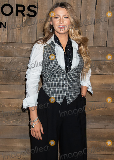 Michael Kors Photo - MANHATTAN NEW YORK CITY NEW YORK USA - FEBRUARY 12 Actress Blake Lively arrives at the Michael Kors Collection FallWinter 2020 Runway Show - February 2020 during New York Fashion Week held at the American Stock Exchange on February 12 2020 in Manhattan New York City New York United States (Photo by Image Press Agency)