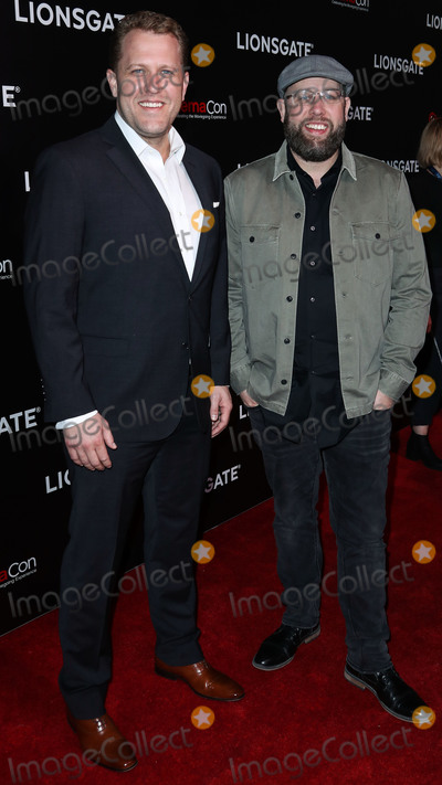 Andrew Erwin Photo - LAS VEGAS NEVADA USA - APRIL 04 Jon Erwin and Andrew Erwin of Erwin Brothers arrive at the CinemaCon 2019 - Lionsgate Presentation and Screening of Long Shot held at The Colosseum at Caesars Palace during CinemaCon the official convention of the National Association of Theatre Owners on April 4 2019 in Las Vegas Nevada United States (Photo by Xavier CollinImage Press Agency)