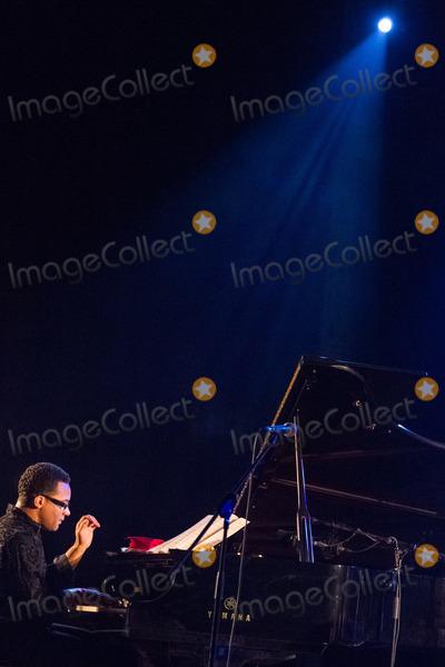 Al Di Meola Photo - LISBOA PORTUGAL - DECEMBER 11 Al Di Meola and Gonzalo Rubalcaba performing live at Aula Magna on December 11 2012 in Lisboa Portugal (Photo by Rui M LealImageCollectcom)