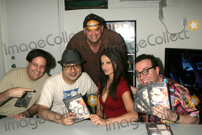Eric Fleming Photo - the Devils Muse Cast Dvd Signing of the Art Horror Cult Classic Film Spudics Movie Empire Van Nuys CA 050909 Eric Fleming Ramzi Abed Jed Rowen Amie Nicole and Paul Bunnell Photo Clinton H Wallace-photomundo-Globe Photos Inc