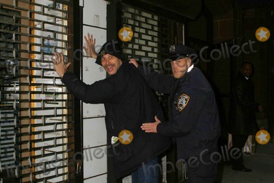 Photo - Chris Elliott Pre- Tape S a Comedy Sketch For Late Show with David Letterman Outside the Ed Sullivan Theater New York