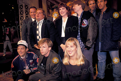 Adam Sadler Photo - Saturday Night Live 09-21-1993 Photo Mitchell Levy-Globe Photos Inc 1993 Rob Schneider Chris Farley Adam Sadler Mike Meyers David Spade Charles Barkley
