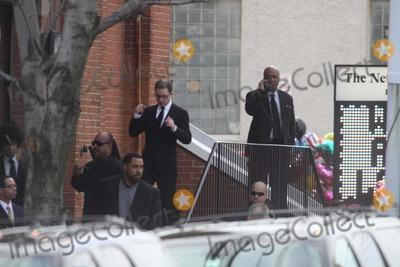 Photo - Whitney Houston Funnel Service at New Hope Baptist Church in Newark NJ