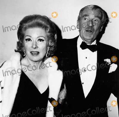 Photo - Greer Garson Walter Pidgeon at the National Theatre Opening in Los Angeles 1979 Supplied by Globe Photos Inc