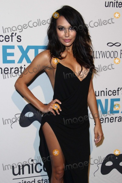 Photo - Naya Rivera attends Unicef Dia de Los Muertos Black  White Masquerade Ball on October 30th 2014 at the Masonic Lodge at the Hollywood Forever Cemetery hollywoodcaliforniausaphoto Tleopold Globephotos