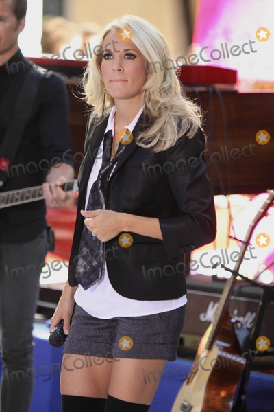 Photos From Carrie Underwood on Nbc's 'Today' Show Toyota Concert Series New York