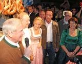 Alfons Schuhbeck Photo - Balthasar Hauser Alfons Schuhbeck Maria Hauser-Lederer Arnold Schwarzenegger und Magdalena Hauser bei der 23 Weisswurstparty beim Stanglwirt in Going am 24012014 Credit Kirschnerface to face