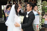 Yang Mi Photo - Actor Hawick Lau and actress Yang Mi hold wedding ceremony in Bali IslandIndonesia on Wednesday January 82013Credit Topphotoface to face- No rights for China and Taiwan -
