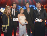 Anastacia Photo - Anastacia David Beckham Kylie Minogue Robin Thicke Jean-Paul Gaultier L-R attending the GQ Award (Maenner des Jahres 2013) at Komische Oper Berlin 07112013Credit E Schroederface to face