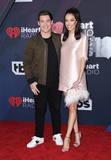 Adam DeVine Photo - 11 March 2018 - Inglewood California - Adam Devine Chloe Bridges 2018 iHeart Radio Awards held at The Forum Photo Credit Birdie ThompsonAdMedia