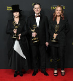 Amy Sherman-Palladino Photo - 15 September 2019 - Los Angeles California - Amy Sherman-Palladino Daniel Palladino Robin Urdang 2019 Creative Arts Emmys Awards -- Press Room held at Microsoft Theater LA Live Photo Credit Birdie ThompsonAdMedia