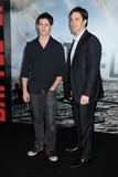Steven R McQueen Photo - 8 March 2011 - Westwood California - Steven R McQueen and Luc Robitaille Battle Los Angeles Los Angeles Premiere held at the Regency Village Theatre Photo Byron PurvisAdMedia