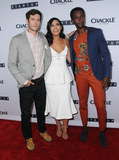 Adam Brody Photo - 23 August 2016 - West Hollywood California Adam Brody Otmara Marrero Edi Gathegi Los Angeles Premiere of Crackles StartUp held at The London West Hollywood Photo Credit Birdie ThompsonAdMedia