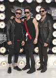Jared Leto Photo - 28 August 2011 - Los Angeles California - Jared Leto (C) Shannon Leto (R) and Tomo Milicevic of 30 Seconds to Mars 28th Annual MTV Video Music Awards held at Nokia Theatre LA Live Photo Credit Russ ElliotAdMedia