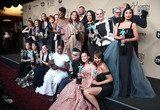 Alan Aisenberg Photo - 29 January 2017 - Los Angeles California - Danielle Brooks Lea DeLaria Yael Stone Abigail Savage James McMenamin Emily Althaus Alan Aisenberg Kimiko Glenn Samira Wiley Julie Lake Uzo Aduba Jessica Pimentel Dascha Polanco Taryn Manning 23rd Annual Screen Actors Guild Awards held at The Shrine Expo Hall Photo Credit F SadouAdMedia