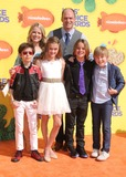 Aidan Gallagher Photo - 28 March 2015 - Inglewood California - Aidan Gallagher Allison Munn Lizzy Greene Brian Stepanek Mace Coronel Casey Simpson 2015 Kids Choice Awards held at The Forum Photo Credit Byron PurvisAdMedia
