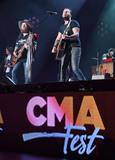 Brothers Osborne Photo - 11 June 2017 - Nashville Tennessee - John Osborne and TJ Osborne Brothers Osborne 2017 CMA Music Festival Nightly Concert held at Nissan Stadium Photo Credit Laura FarrAdMedia