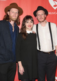 The Lumineers Photo - 10 February 2017 - Los Angeles California - Wesley Schultz Neyla Pekarek and Jeremiah Caleb Fraites of the The Lumineers 2017 MusiCares Person Of The Year Honors Tom Petty Photo Credit F SadouAdMedia