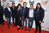The Tragically Hip Photo - 13 September 2017 - Toronto Ontario Canada - Jennifer Baichwal Nicholas de Pencier Paul Langlois Johnny Fay Gord Sinclair and Rob Baker of The Tragically Hip 2017 Toronto International Film Festival - Long Time Running Premiere held at  Roy Thomson Hall Photo Credit Brent PerniacAdMedia