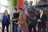 Aldis Hodges Photo - 26 January  - Hollywood Ca - Alwyn Hight Kusnher Jason George Woody Schuktz Aldis Hodge Neil Brown Jr SAG Awards Actor visits Hollywoods TCL Chinese Theater with SAG Awards nominees Aldis Hodge and Neil Brown Jr held at TCL Chinese Theater  Photo Credit Birdie ThompsonAdMedia