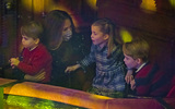 Kate Middleton Photo - 11th December 2020 - Prince William Duke of Cambridge and Kate Duchess of Cambridge Catherine Katherine Middleton with their children Prince Louis Princess Charlotte and Prince George attend a special pantomime performance at Londons Palladium Theatre hosted by The National Lottery to thank key workers and their families for their efforts throughout the pandemic Photo Credit ALPRAdMedia