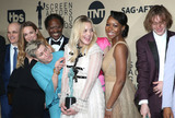 Amanda Warren Photo - 21 January 2018 - Los Angeles California - Lucas Hedges Zeljko Ivanek Samara Weaving Frances McDormand Clarke Peters Amanda Warren Malaya Rivera Drew Darrell Britt-Gibson Sandy Martin 24th Annual Screen Actors Guild Awards held at The Shrine Auditorium Photo Credit RetnaAdMedia