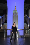Behati Prinsloo Photo - 02 March 2020 - New York New York - Behati Prinsloo does the ceremonial lighting of the Empire State Building in celebration of World Wildlife Day at the Empire State Building Photo Credit LJ FotosAdMedia