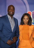 Akbar Gbaja-Biamila Photo - 8 August 2019 - Beverly Hills California - Akbar Gbaja-Biamila and Zuri Hall 2019 TCA NBC Press Tour Carpet held at The Beverly Hilton Hotel Photo Credit FSadouAdMedia